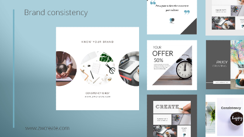 Brand Consistency graphic