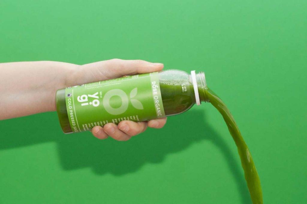 Dose juice branding